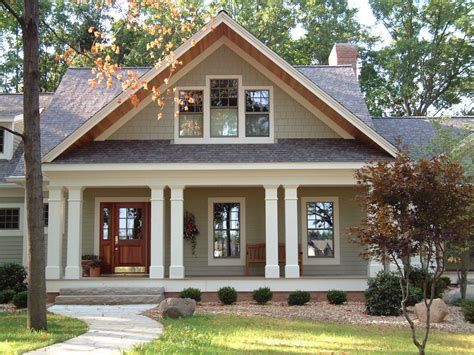 Charm Of Cottage Craftsman House Plans House Style And Plans