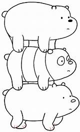 Bears Bare Ice Bear Coloring Draw Cartoon Panda Grizzly Drawing Drawings Step Network Drawinghowtodraw Bearstack Doodles Template Mewarnai Gambar Sketch sketch template