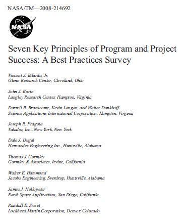 herding cats seven principles of project success