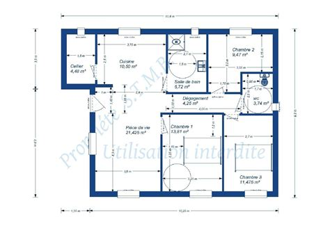 Plan De Maison Simple. Plan De Maison Simple Sur With Plan