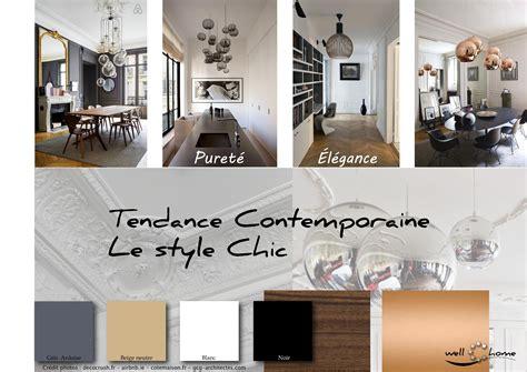 Decoration Interieure Contemporaine Tendance Conseils Moodboard D 233 Co Planche D Ambiance Tendance