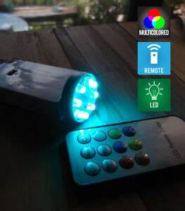 Defiant Led Puck Lights Wireless Controlled 8 Led Color Changing Battery Terminal