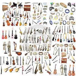 Different Music Instruments Stock Photo - Image: 42914548