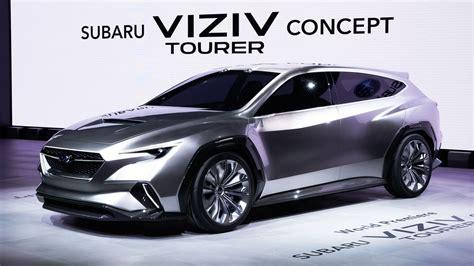 Subaru Viziv Tourer concept previews next-gen Levorg ...