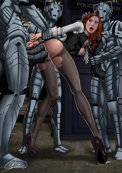 Rule 34 2014 Actress Amy Pond Anal Anal Sex Breasts Celebrity Color Cybermen Doctor Who Double