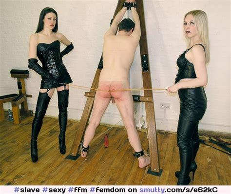 Sexy Ffm Femdom Caning Redass Spanking Spank Bdsm Bondage Leather Mistress