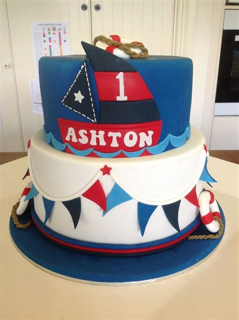 17 Best Images About 1st Birthday Nautical On Pinterest