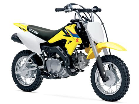 Suzuki Unveiled A Small 49cc Motocross For The Young Guns