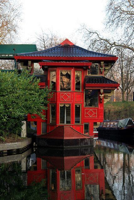 Floating Boat Chinese Restaurant London by Chinese Houseboat On The Regent S Channel London Uk