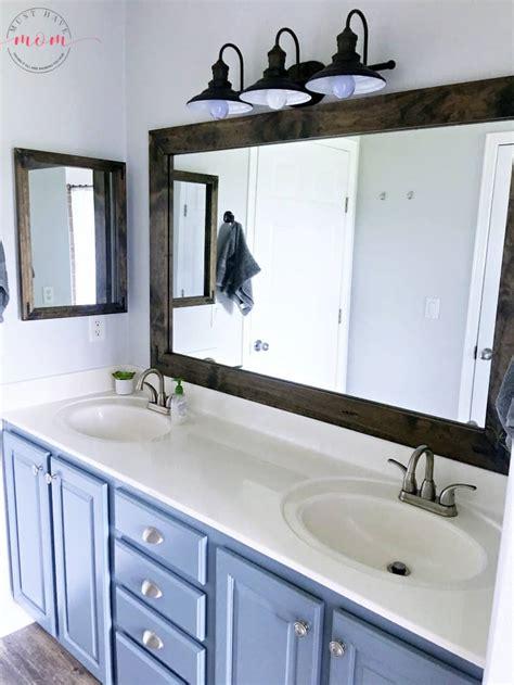 farmhouse style fixer upper bathroom   budget