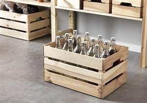 Caisse En Bois : rangement bouteilles 12 solutions pour ranger ses ~ Nature-et-papiers.com Idées de Décoration