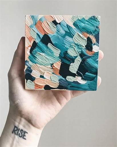 Painting Canvas Acrylic Thick Aesthetic Taylor Lee