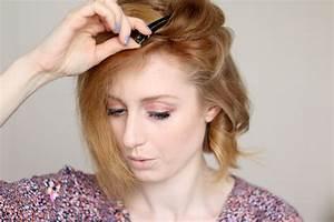 Gutes Haarspray Für Locken : locken mit dem gl tteisen frisur f r kurze haare advance your style ~ Frokenaadalensverden.com Haus und Dekorationen
