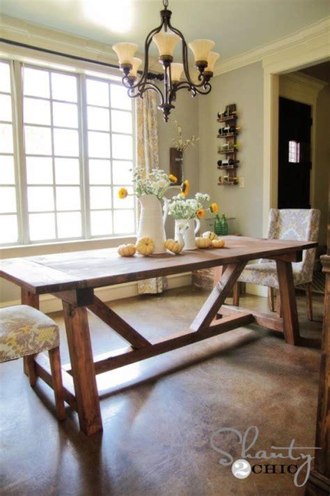 DIY Restoration Hardware Dining Table!   Shanty 2 Chic