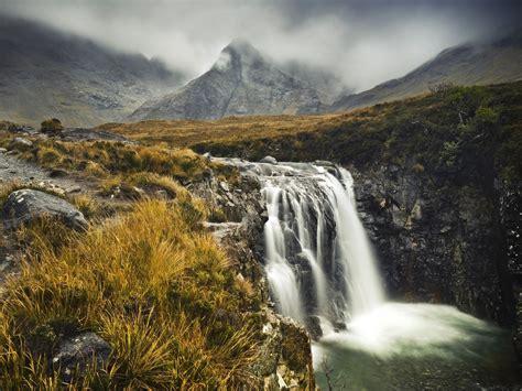 mist scotland highlands isle of skye scottish 1600x1200 ...