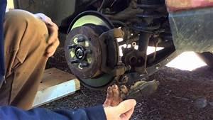 Diy Rear Brake Pads Subaru Forester