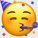 Party Smiley Emoji Face Smile Horn Clipart