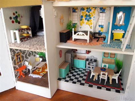 Decorating Ideas Leftover Wallpaper Border by The Dollhouse Finale Finally Reality Daydream