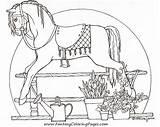 Coloring Horse Rocking Adult Colouring Boop Betty Enregistrée Depuis Adults sketch template