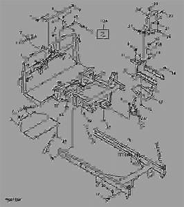Frame   - 045000  - Progator John Deere 2030a