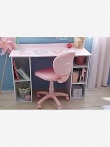 Chaise à Roulettes : chaise de bureau roulettes rose fleurs vertbaudet ~ Melissatoandfro.com Idées de Décoration