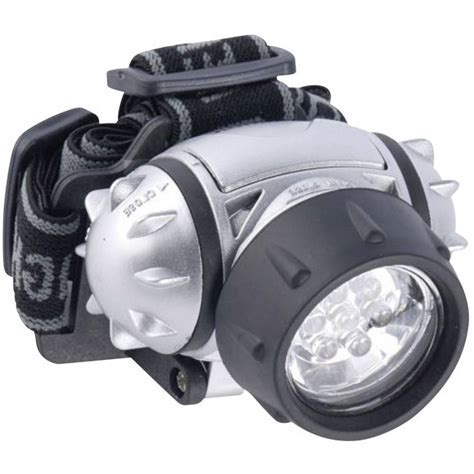 LED Stirnlampe Grundig Kopflampe 7 LED batteriebetrieben