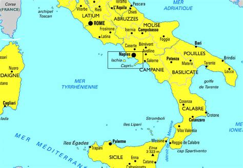 Carte Sud De Et Italie by Italie Du Sud Et 238 Les 233 Oliennes Le Programme