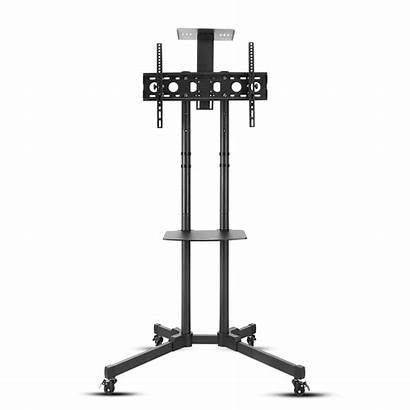 Tv Stand Rolling Vizio Cart Mount Trolley