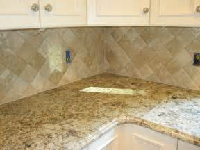 Travertine Kitchen Backsplash Travertine Tile Kitchen Backsplash