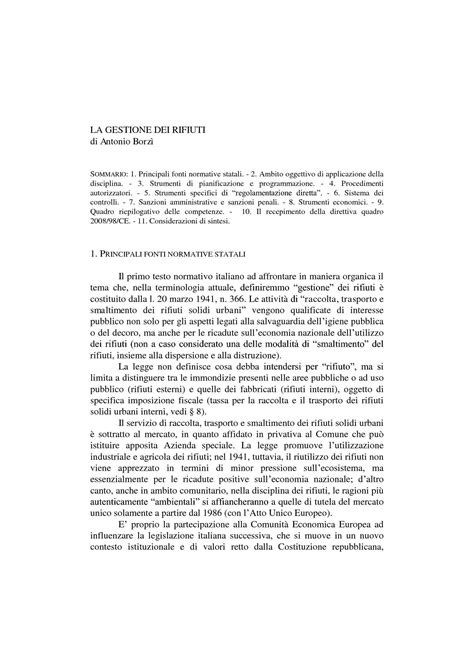 diritto ambientale dispense informazione ambientale dir 90 313 cee dispense