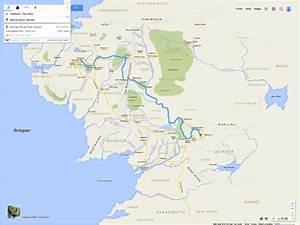 If Frodo  U0026 Sam Had Google Maps Of Middle Earth  U2013 Brilliant Maps