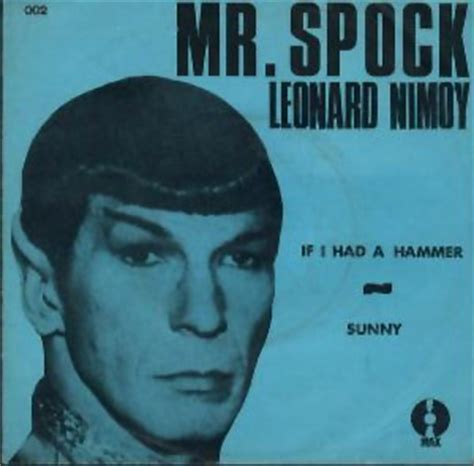 leonard nimoy hammer 17 best images about unusual cover records on pinterest
