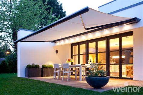 retractable patio awnings markliux weinor bespoke electric manual awnings