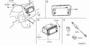 Nissan Leaf Radio Wiring Harness  Audio  Antenna  Unit