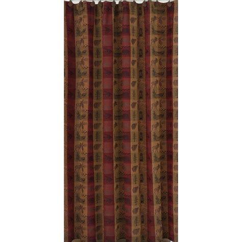 Burlap Shower Curtain by Primitive High Country Shower Curtain Country Village Shoppe