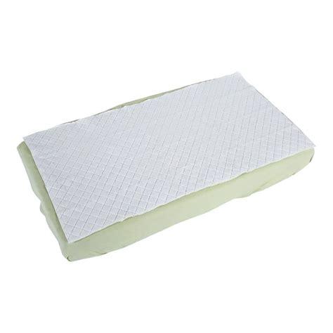 crib mattress pad summer infant waterproof 27 in x 53 in crib pad baby