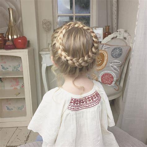 peinados  trenza  ninas  decoracion de
