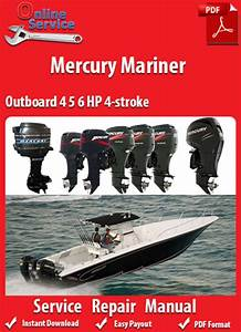 Mercury Mariner 4 5 6 Hp 4-stroke Service Manual