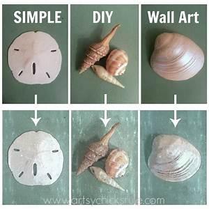 Simple thrifty diy coastal wall art tutorial artsy