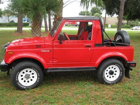 Suzuki Samari For Sale by Automobile Finds 1986 Suzuki Samurai 4x4 Jeep For Sale