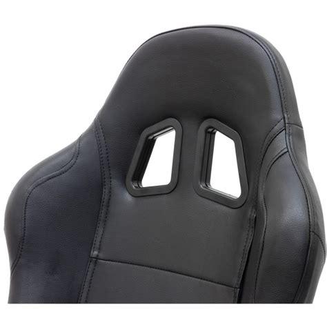 fauteuil baquet de bureau fauteuil de bureau sport baquet racing en cuir quot daytona quot noir