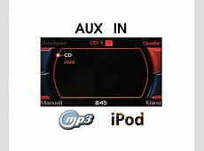 AUX IN NachrüstSet Radio Concert Symphony Audi36664