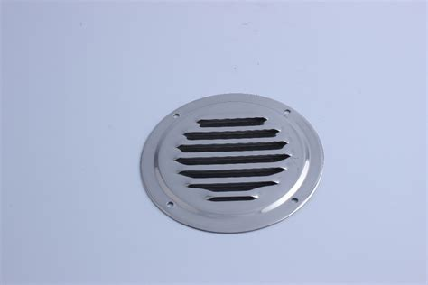 round louvre air vent stainless steel louvered ventilation