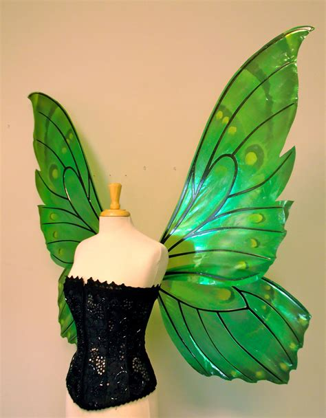 giant butterfly painted fairy wings   choice  colors
