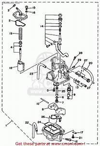 Yamaha Wr200rd Competition 1992 Carburetor