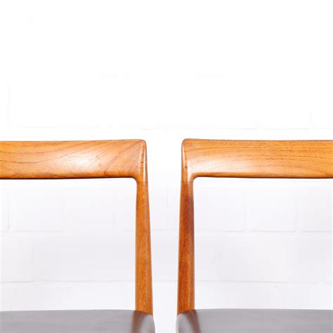 le 60er design dining chairs luebke minimalsm danish design