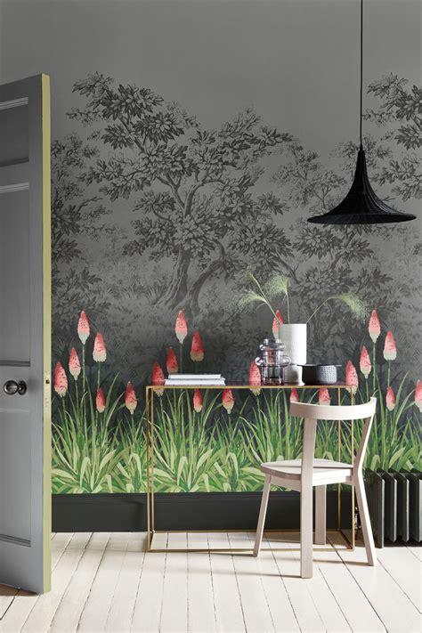 upper brook street   greene midi wallpaper direct