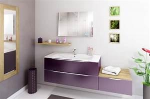 Salle De Bain Couleur Bois : salles de bain modernes et tendance you ~ Zukunftsfamilie.com Idées de Décoration