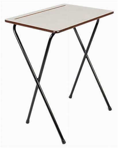 Folding Desk Exam Tray Stand Bar Double