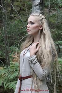 silver forest earrings website modeling thevikingqueen